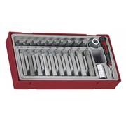 Teng Tools TTTX23 Drive TX Set de douilles
