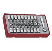 """Teng Tools TTTX30 3/8 """"Juego de zócalos de transmisión TX / TPX / TXE"""