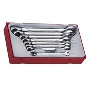 Teng Tools Juego de llaves combinadas con trinquete TT6508R