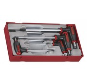 Teng Tools Juego de llaves T-allen 7 piezas