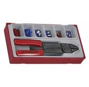 Teng Tools TTCP121 conjunto de herramientas de crimpado