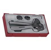 Teng Tools TTCP04 Ratschen-Crimpwerkzeugsatz