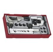 Teng Tools TTTF10 Juego completo de herramientas de abocardado de tubos