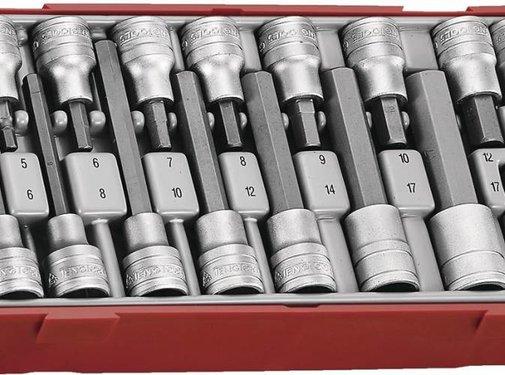 Teng Tools TTHEX16 long bit sockets
