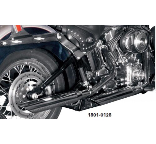 TC-Choppers Harley Davidson 3-Zoll-Schalldämpfer