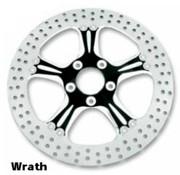 brake rotor contrast-cut 2-piece