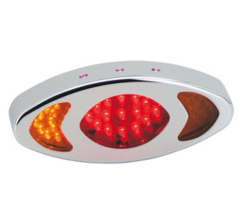 TC-Choppers achterlicht LED cat-eye - Turnsignal combinatie