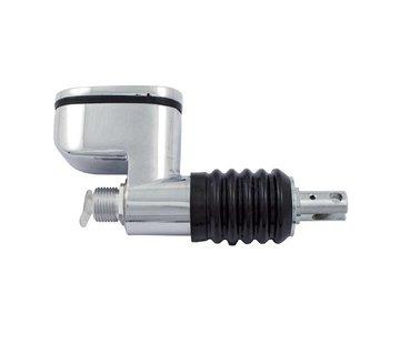 MCS rear master brake cylinder, 99-04 FLT; 00-05 Softail