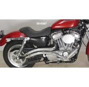 Radii uitlaat curvado Sportster XL 1986-2012