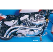 Radii exhaust curved Sportster XL 1957-2007