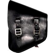 La Rosa bags saddlebags black Softail