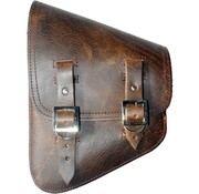 La Rosa bags saddlebags rustic brown