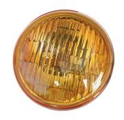 Scheinwerfereinsatz gelb - geriffelte Linse