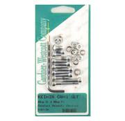 GARDNER-WESTCOTT Jeu de vis à six pans creux en acier inoxydable pour carburateur Keihin CV - Copy