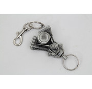 Wyatt Gatling Evo Engine Keychain