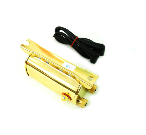 6 Volt Ignition Coil brass
