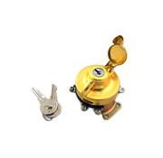 Wyatt Gatling ignition Switch brass Fits: > FL 1947-1967; WL 1947-1952