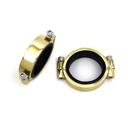 Brass intake manifold clamp set