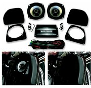 Hogtunes audio  fairing lower speaker kit 98-12 Touring and H-D FL trikes