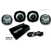 Hogtunes audio big ultra kit 98-12 Ultra Classic maar kan worden gebruikt op 98-12 FLHX