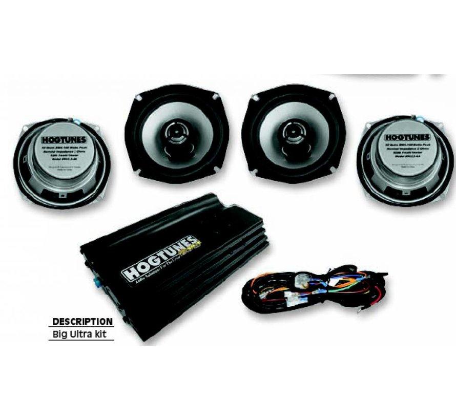 audio big ultra kit 98-12 Ultra Classic maar kan worden gebruikt op 98-12 FLHX