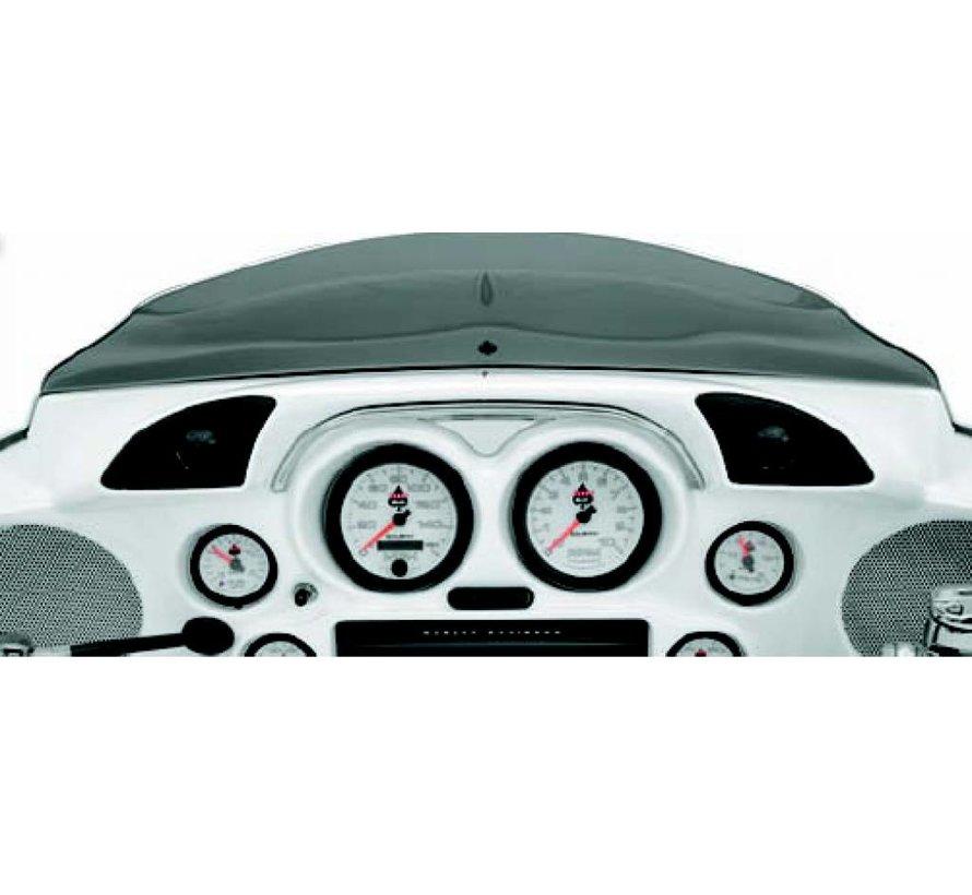 Harley Davidson audio hf-1 hog-pod FLHt / FLHx dash trim tweeter pod voor 98-13 FLTR-modellen
