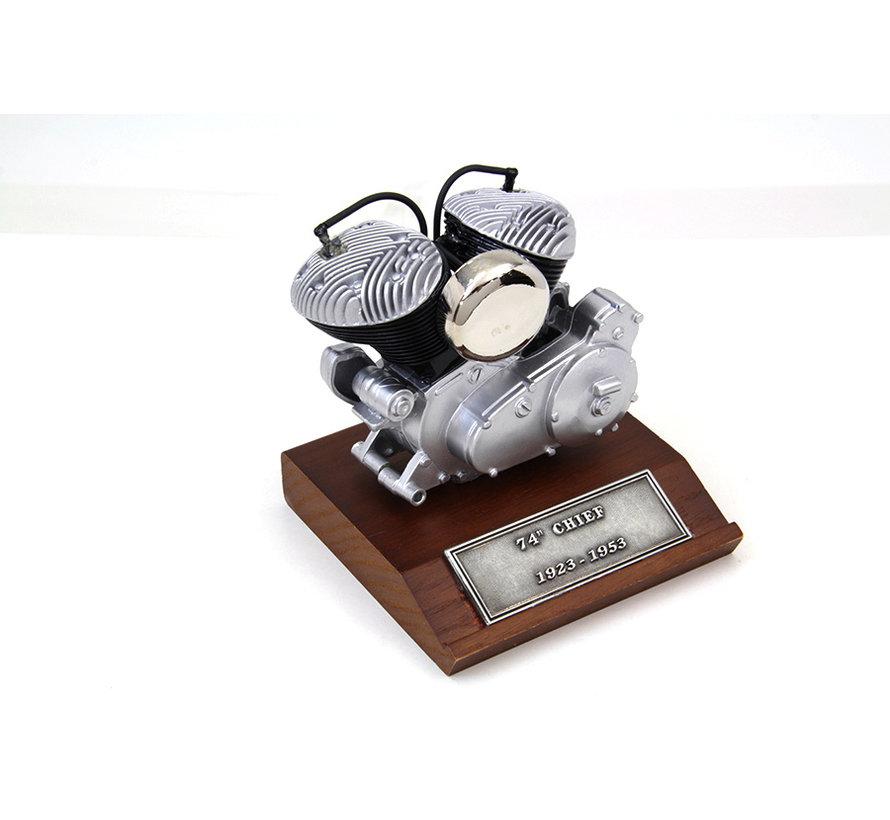 """74 """"Chief 1200cc 1925-1953 motormodel"""