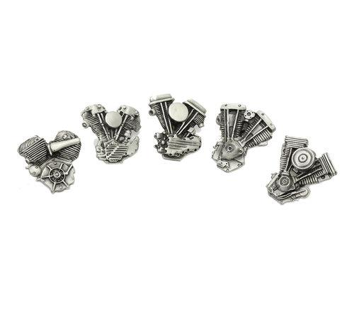 Harley Davidson Motor Lapel Pin