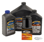 Spectro Engine and Drive Train Oil Service Kit for 1984 - 1999 Evolution Big Twin