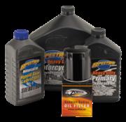 Spectro Service-Kit für Motor- und Antriebsstrangöl für 1984 - 1999 Evolution Big Twin