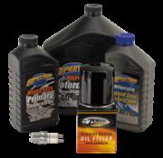 Spectro Total Service Kit für Motor-Antriebsstrangöl und Zündkerze für Twincam 1999-2017