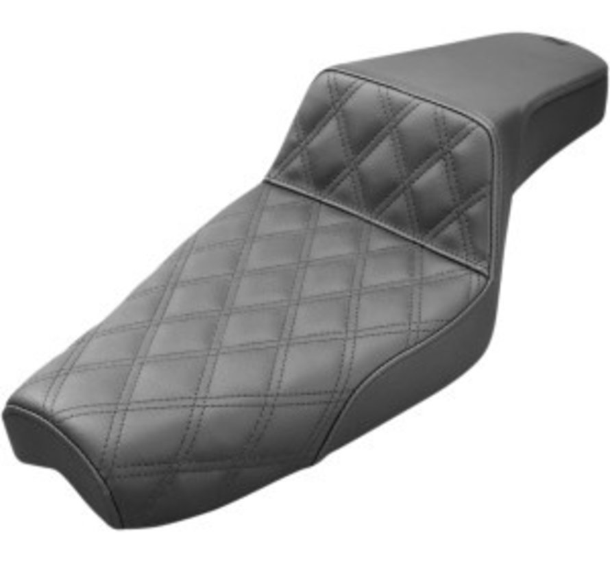 seat Step-Up  LS Fits:> 04-19 XL Sportster Custom with 17 liter (4,5 US gallon) tank