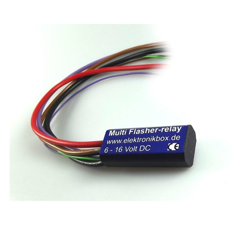 knipperlichtzelfdempingsmodule Multi Flasher Relay