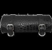 La Rosa bags Black alligator toolbag Fits: > Universal