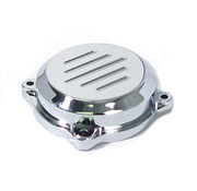 Wyatt Gatling Carburetor Top cover chrome with Grooves