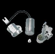 Puntos estándar y condensadores.