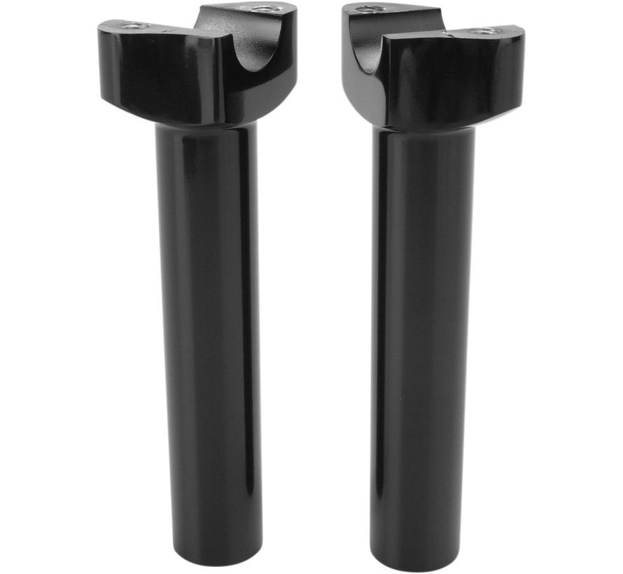 "handlebars risers forced aluminum Black or Chrome -16,5 cm (6,5"") Straight"