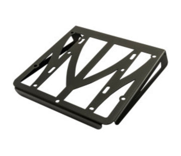 Luggage Rack black finish - Fits:> 04-19 Sportster XL