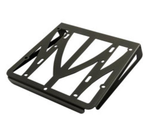 Luggage Rack black finish - Fits:> 04-19 Sportster XL