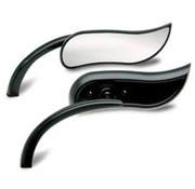 Arlen Ness miroir (upswept) noir ou chromé