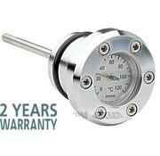 Indicador de temperatura del aceite - instrumentos de precisión de calidad inigualable - Evo Softail 1984-1999, Sportster 1982-2003 - Copia