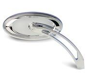 Arlen Ness spiegel gegoten chroom ovale trap spiegel
