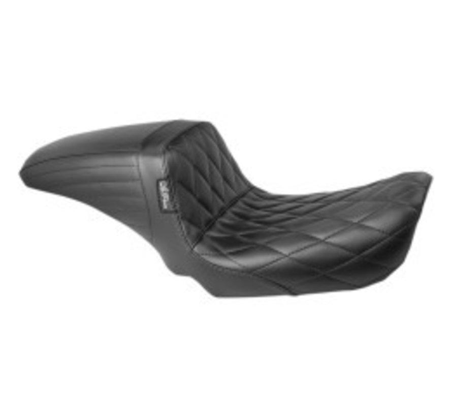 Kickflip Seat 06‑17 FXD - Asiento de diamante