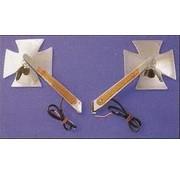 LED Croix de Malte tour-signal de miroir