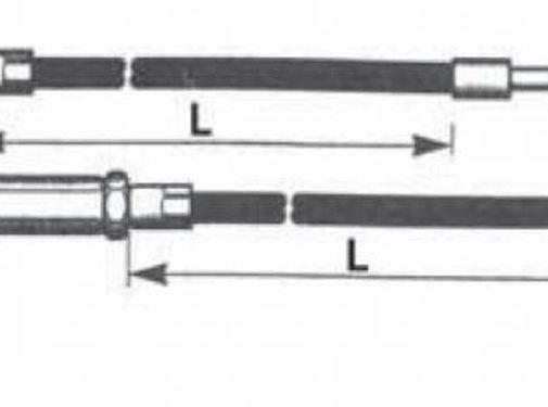 Barnett handlebars throttle cable Buell