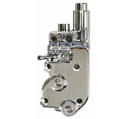 Ultima High Flo oil pump Polished - Fits: > 73-91 Bigtwin