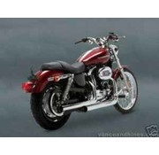 Vance & Hines exhaust straightshot slip-ons - Fits:> 2004-2013 All Sportster XL