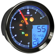 Koso Velocímetro / tacómetro para 11‑19 Softail, 12‑17 Dyna, 14‑19 XL Sportster