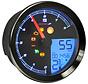 Indicateur de vitesse / compte-tours pour 11-19 Softail, 12‑17 Dyna, 14‑19 XL Sportster