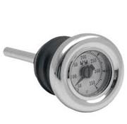 MCS medidor de temperatura del aceite, 1984-2012 Softail; 1982-2003 XL y personalizados Tanques
